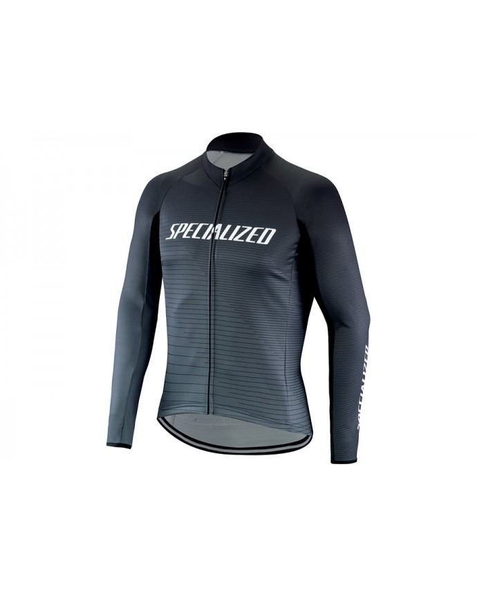 Therminal Rbx Comp Logo Team Jersey LS Specialized Black/Charcoal