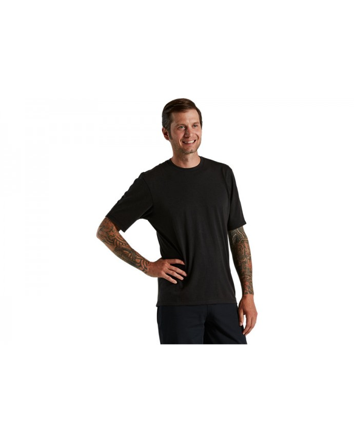 Trail-Series Mineral Wash Jersey SS Specialized Hombre Black