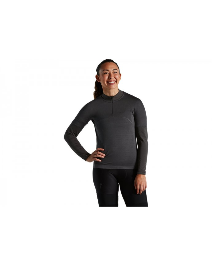 Prime-Series Thermal Jersey LS Specialized Mujer Pizarra