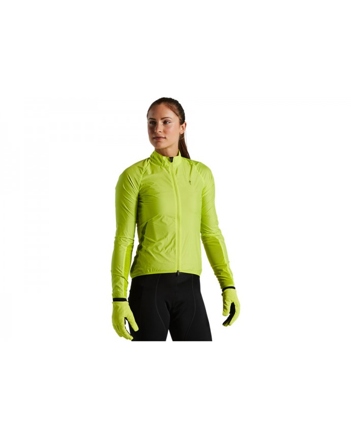 Race-Series Chaqueta Viento Specialized Mujer Hyperviz