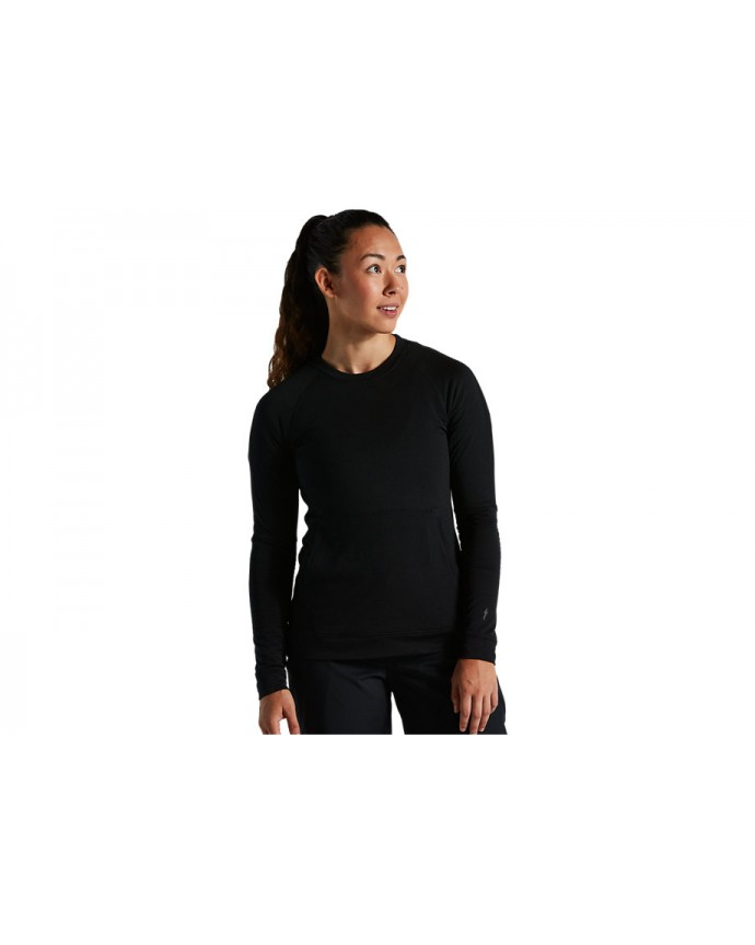 Trail-series Thermal Jersey Ls Specialized Mujer Negro