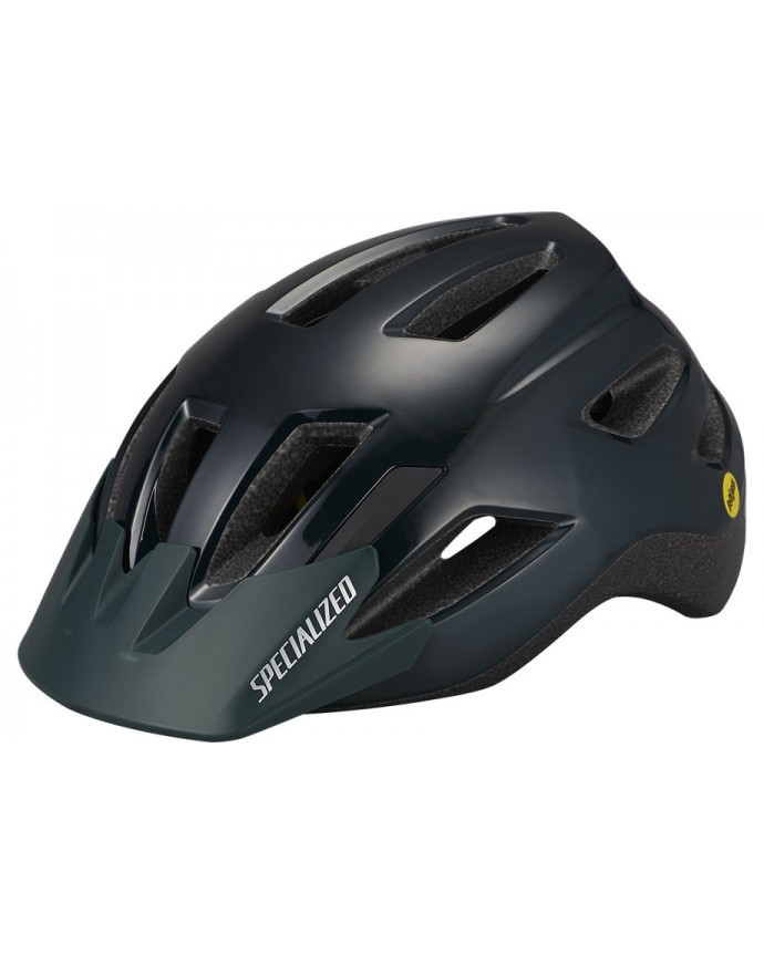 Shuffle Led Sb Casco Mips Ce Specialized Niño Gloss Forest Green/ Oasis