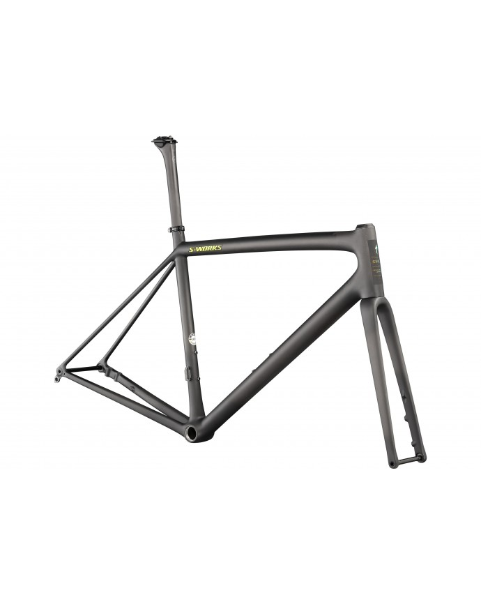 Aethos S-Works Cuadro Specialized 2021 Satin Carbon/Jet Fuel