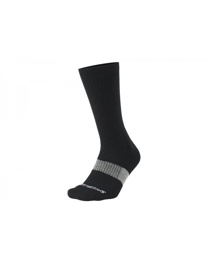 Merino Midweight Calcetines Altos Specialized Black
