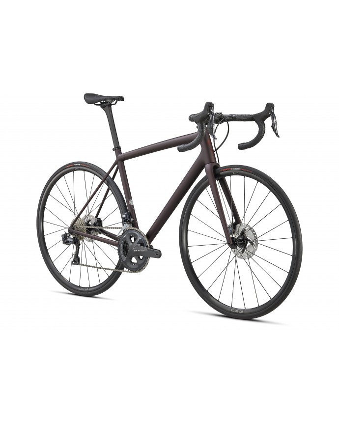 Aethos Expert Expert Ultegra Di2 Specialized 2021 Satin Red Tint/Dream Silver